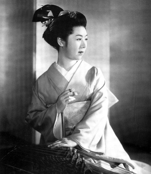 Кинуё Танака, любимая актриса Мидзогути