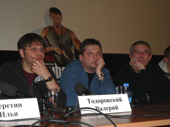 Валерий Тодоровский, Андрей Кавун, Сергей Гармаш