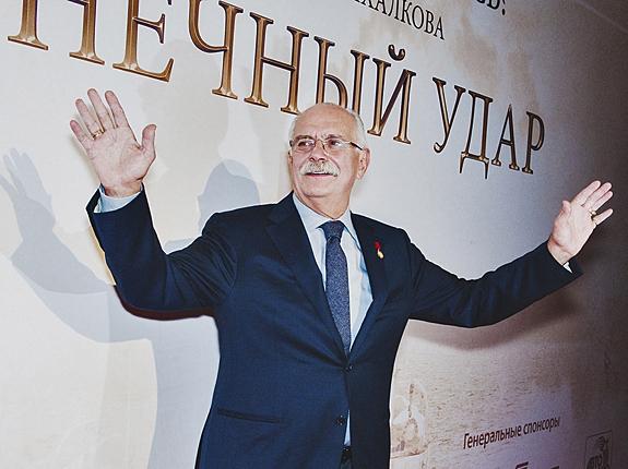 Никита Михалков показал Москве «Солнечный удар»