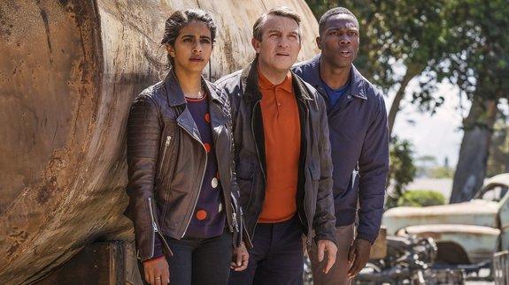 Новые спутники Доктора — Ясмин, Грэм и Райан