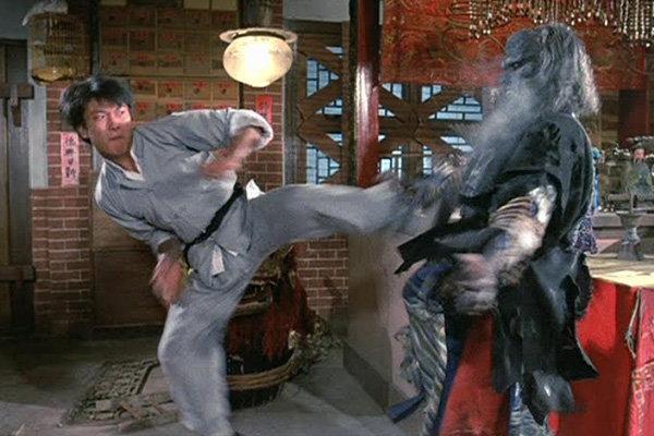 Кадр из фильма «Мистер Вампир 2»