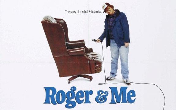 Фрагмент постера фильма «Роджер и я»