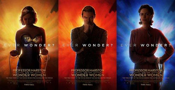 Постеры фильма «Профессор Марстон и Чудо-женщины»