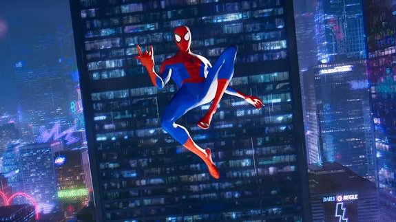 Трейлер мультфильма «Человек-паук: Через вселенные ...