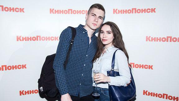 Леонид и Диана / Фото: Ксения Угольникова для КиноПоиска