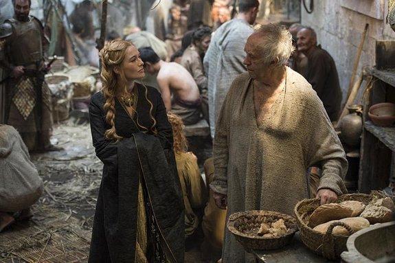 Лина Хиди иДжонатан Прайс в«Игре престолов»