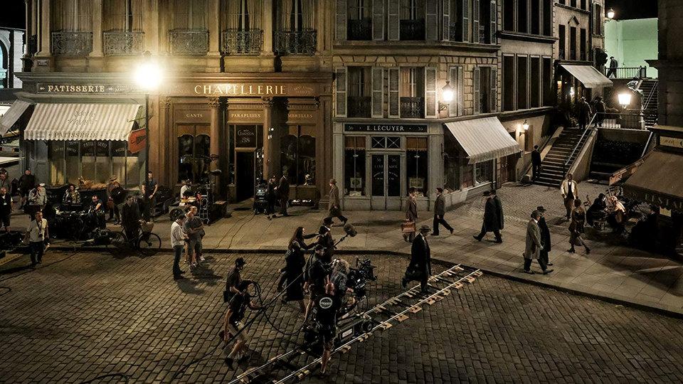 На съемках фильма «Фантастические твари: Преступления Грин-де-Вальда»