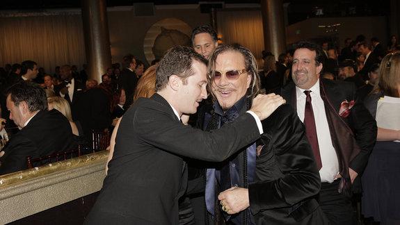Микки Рурк и Даррен Аронофски / Фото: Getty Images