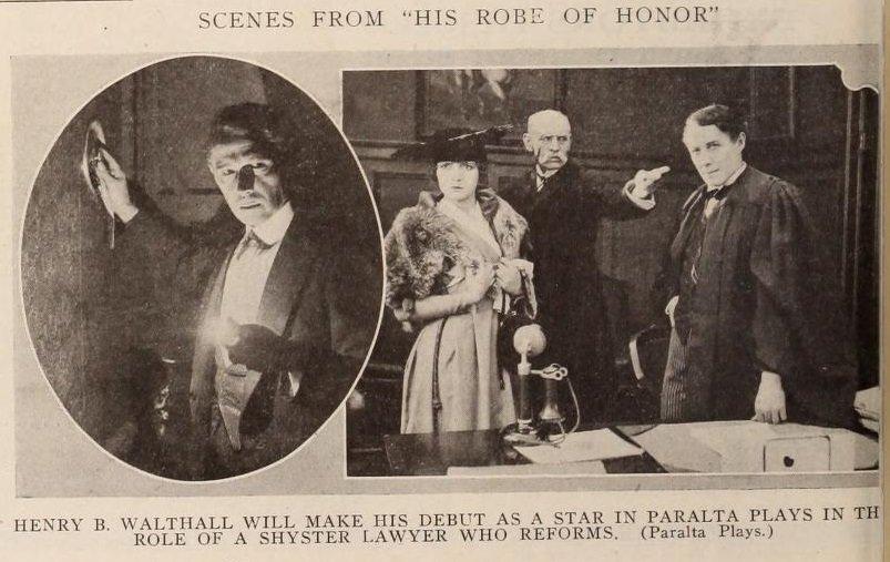 Реклама фильма «Парадная мантия»