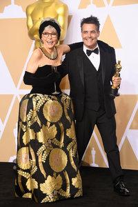 Рита Морено и Себастьян Лелио / Фото: Getty Images