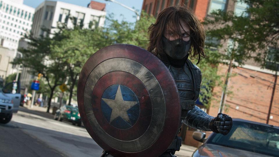 Зимний Солдат из фильма «Первый мститель: Другая война»