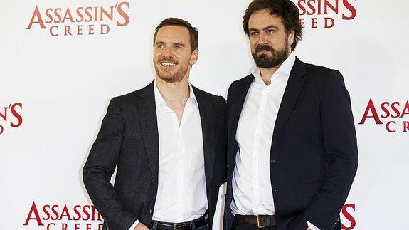 Фассбендер и Курзель на премьере фильма в Лондоне / Фото: Getty