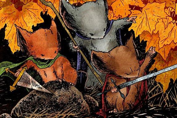Фрагмент комикса «Мышиная гвардия»