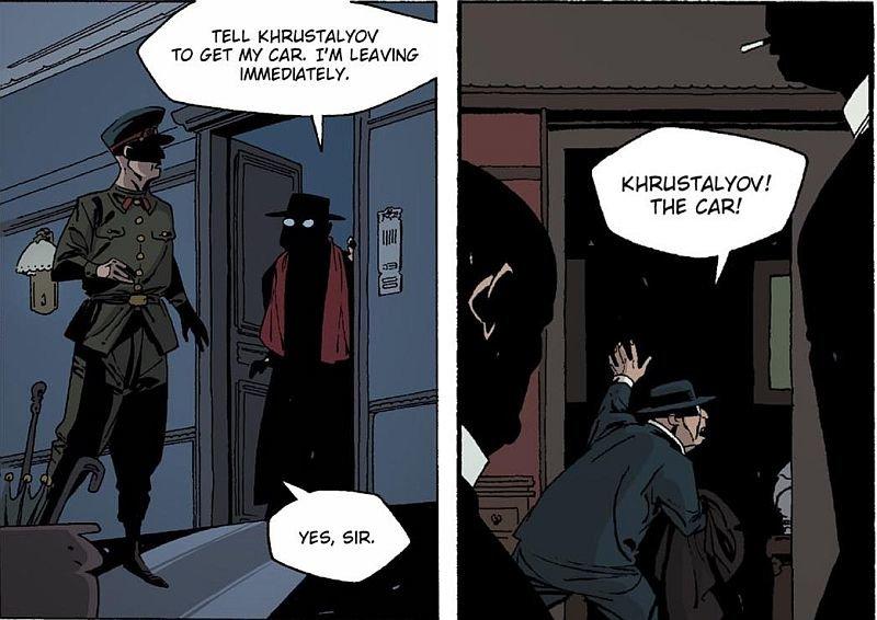 Фрагмент комикса «Смерть Сталина»