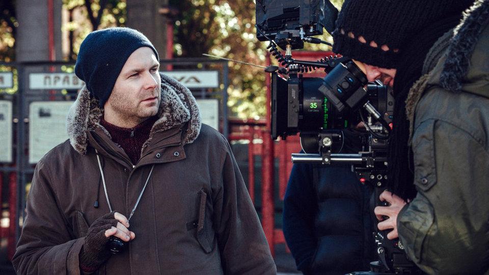 Клим Шипенко на съемках фильма «Салют-7»