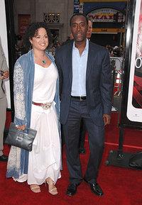 Дон Чидл с женой
