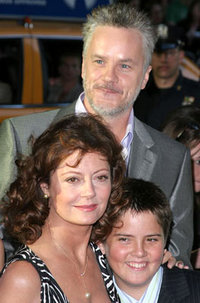 Сьюзэн Сарандон, Тим Роббинс с сыном