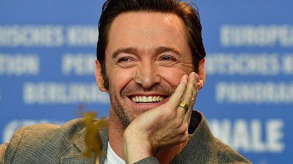 Хью Джекман на пресс-конференции в Берлине / Фото: Getty Images