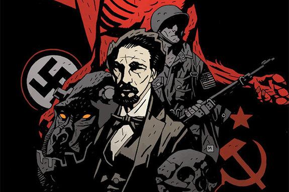 Фрагмент комикса «БРПД 1946»