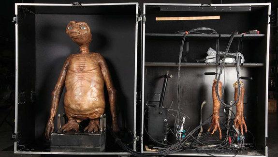 На съемках «Инопланетянина»