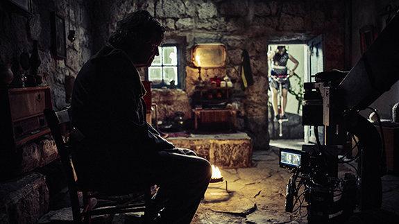 На съемочной площадке фильма «ПоМлечному Пути»