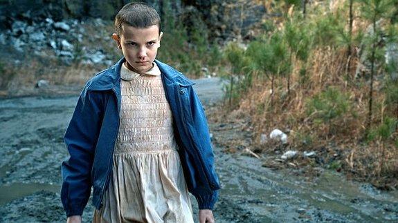 Милли Бобби Браун в роли Одиннадцать