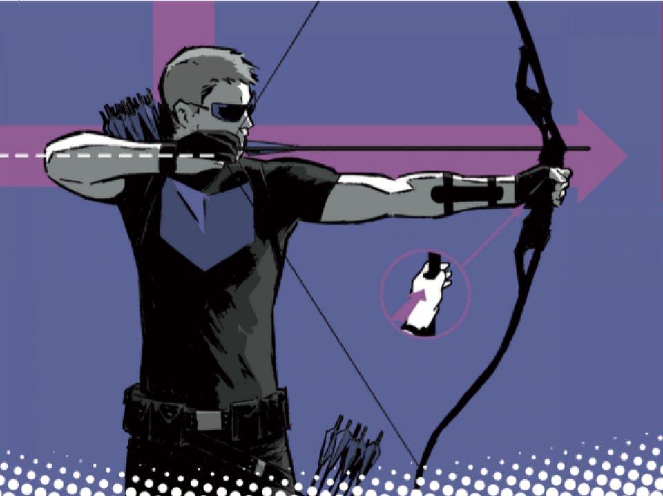 Фрагмент обложки комикса «Хоукай: Быть оружием»