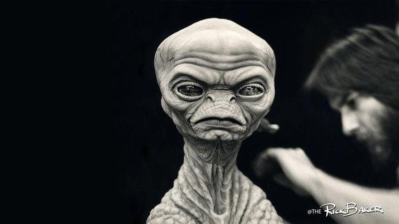 Модель пришельца, разработанная для фильма«Ночные небеса» / Фото: Twitter