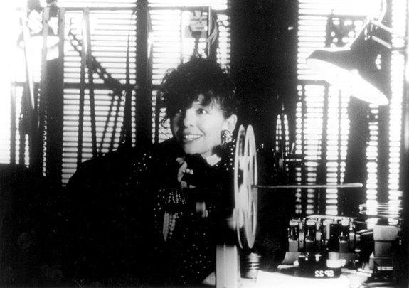 Дайан Китон во время работы над фильмом «Рай»