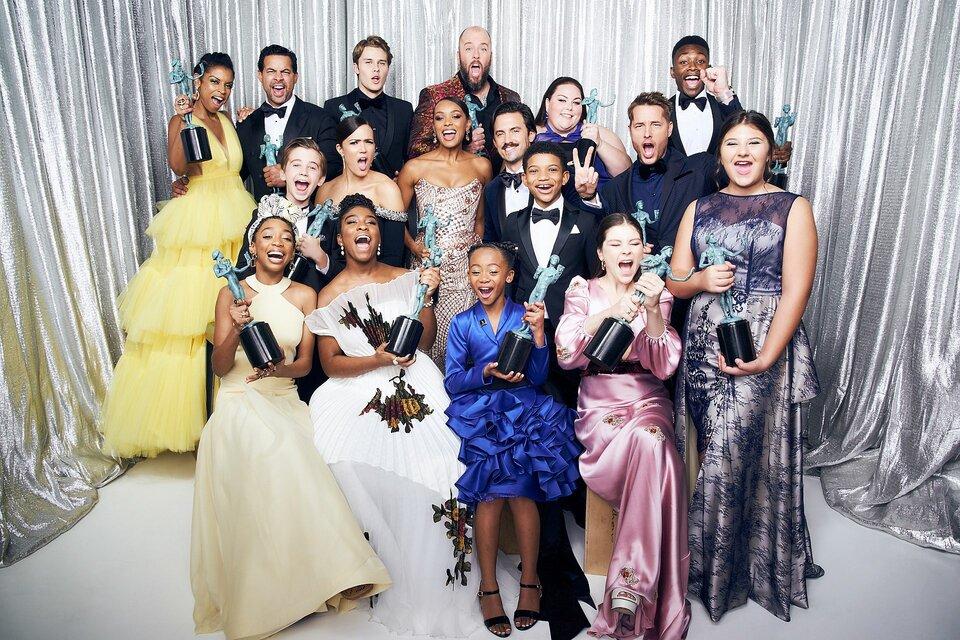 Актерский состав сериала «Это мы» / Фото: Getty Images