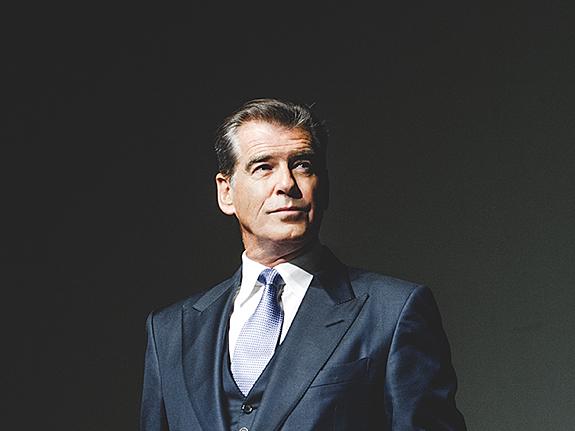 Пирс Броснан представил «Человека ноября» в Москве