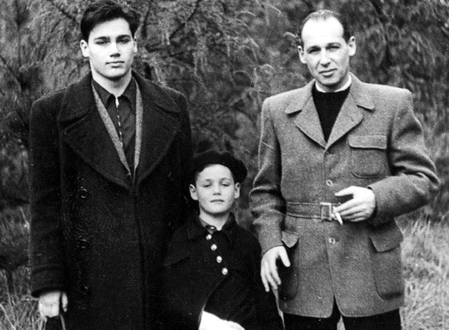 Владимир Познер и его сыновья