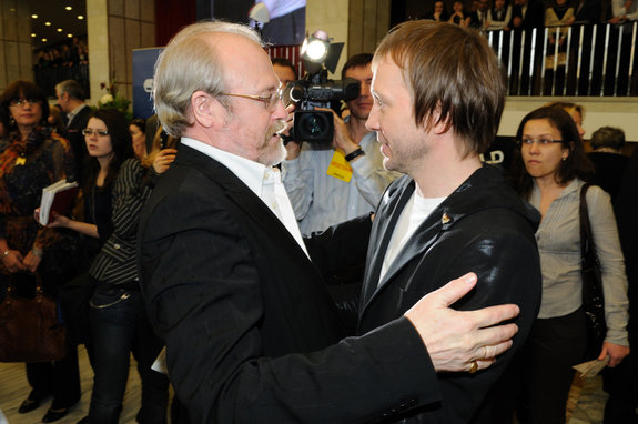 Владимир Хотиненко и Евгений Миронов