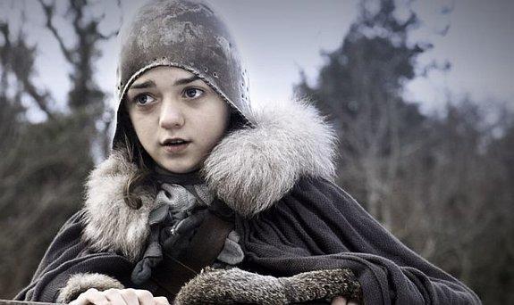 Мэйси Уильямс впервом сезоне «Игры престолов»