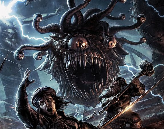 Фрагмент обложки «Dungeons & Dragons: Monster Manual» / Wizards of the Coast