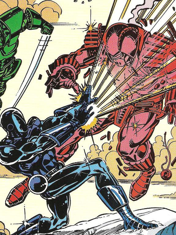 комикс Iron Man №229 / художник Марк Брайт