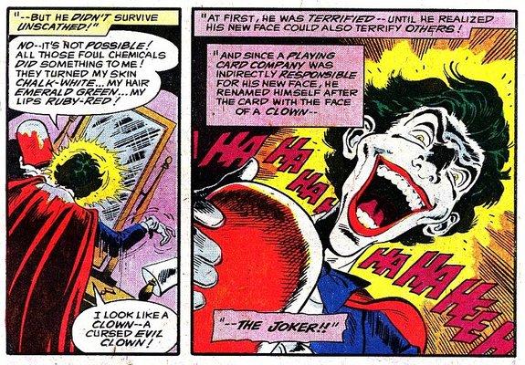 Фрагмент комикса «Untold Legend of the Batman, # 2»