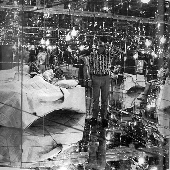Андрей Тарковский на съемках фильма «Солярис»