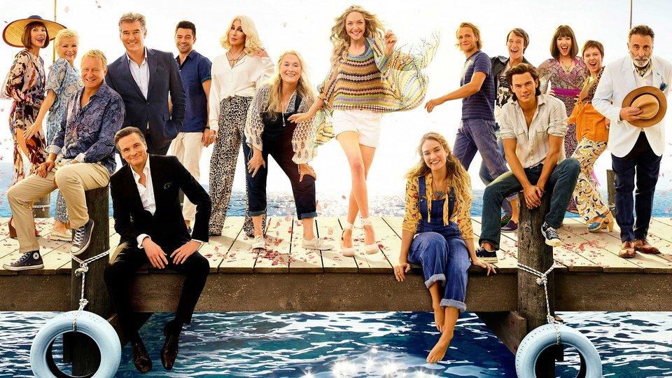 Фрагмент постера фильма «Mamma Mia! 2»