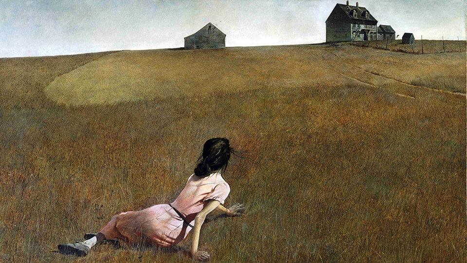 Картина Эндрю Уайета «Мир Кристины»
