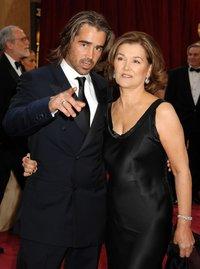 Колин Фаррел с мамой