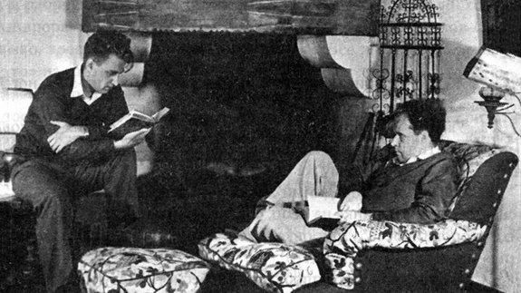 Сергей Эйзенштейн и Григорий Александров