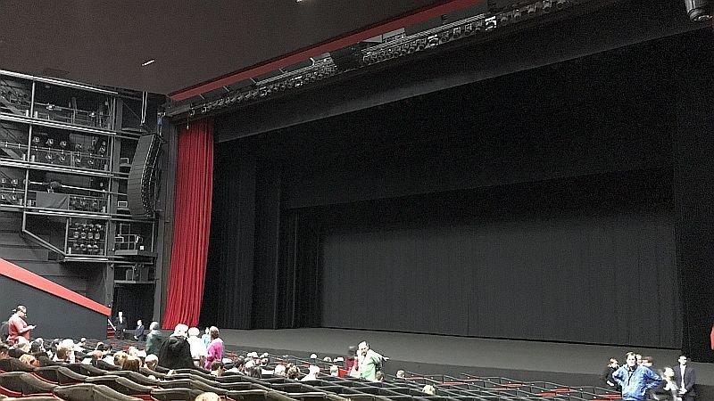 Зал «Люмьер» перед утренним пресс-показом