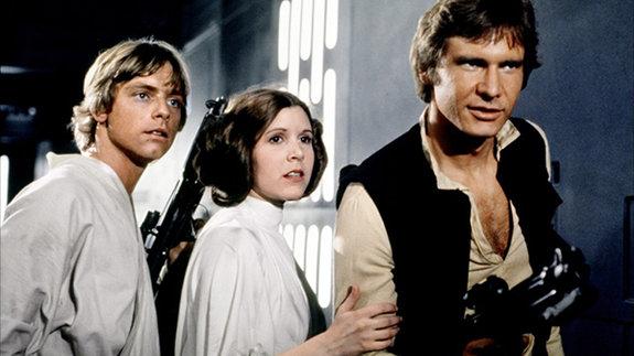 Кадр из фильма « Звездные войны: Новая надежда»