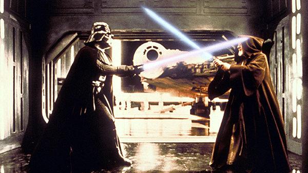 Кадр из фильма «Звездные войны: Новая надежда»