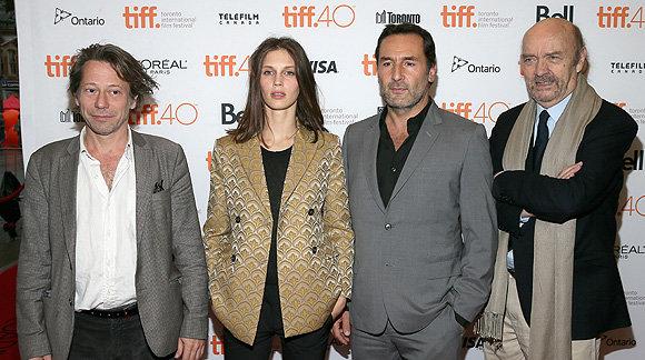 Создатели фильма на фестивале в Торонто