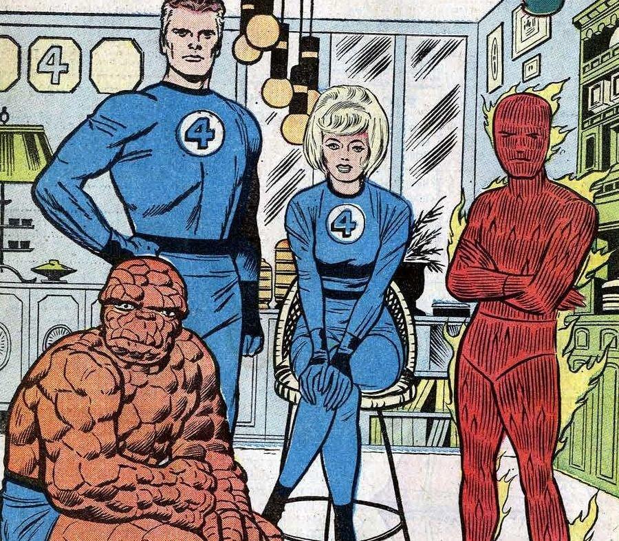 Фантастическая четверка в 1961 году / Иллюстрация: Marvel