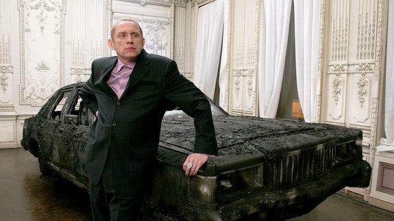 Олег Гаркуша на съемках фильма «Нирвана»