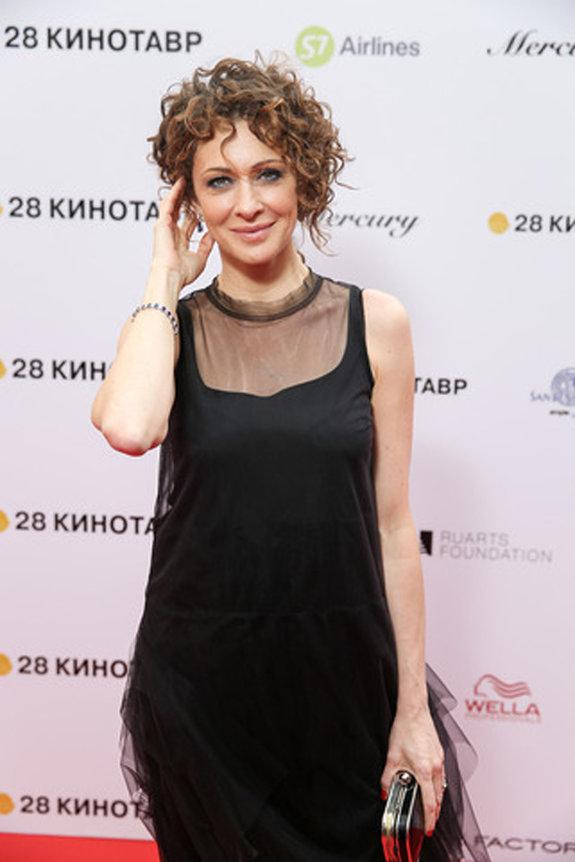 Актриса Ксения Раппопорт / Пресс-служба фестиваля «Кинотавр»
