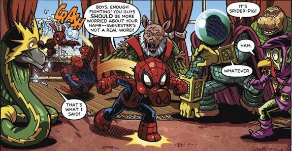 Свин-паук / Иллюстрация: Издательство Marvel